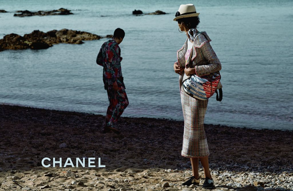 Chanel cruise campaign in the