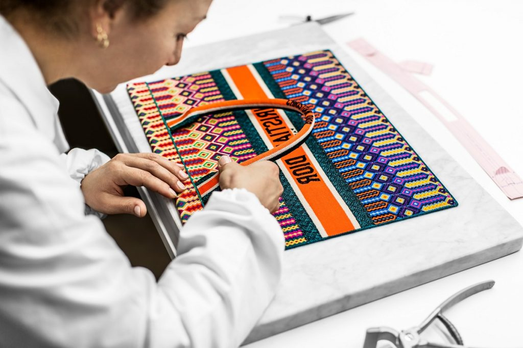 The Making of The Embroidered Book Tote Bag – Posh Magazine Myanmar