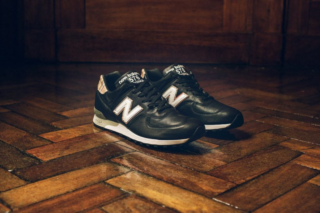 """14795e15f The MiUK-One boot is described by New Balance as a classic boot with a  modern twist, which aligns neatly with Paul Smith's famous """"classic with a  twist"""" ..."""
