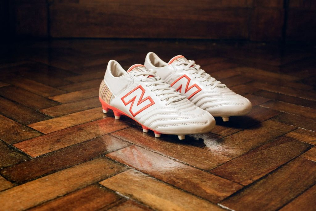 81c671c0d The star of the collaboration is the limited edition New Balance x Paul  Smith MiUK-One Football Boot, which features an upper crafted from soft  kangaroo ...