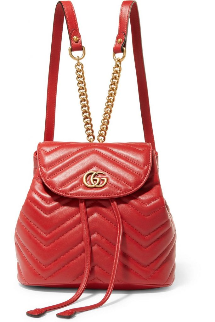 Get your fix of the best new fashion backpacks. The back-to-school basic  has had a luxe update. Gucci Gang 75a8d82aa69b4