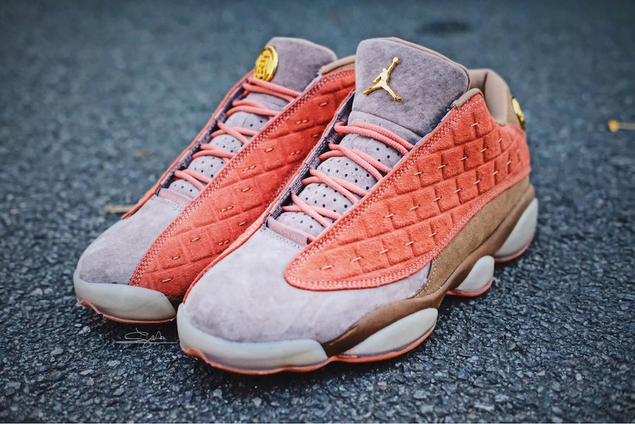 Chen chose to work on the Air Jordan 13 because it was his go-to during his  high school basketball career — and remains a favorite shoe. b6ffcddfa