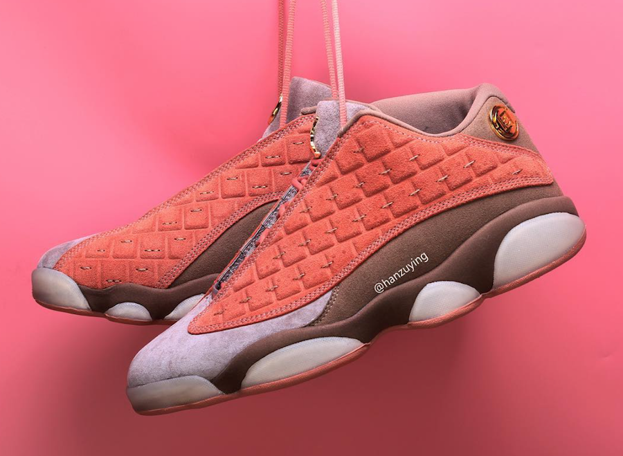 b09b38bf9f54 CLOT x Air Jordan 13 Low Terracotta – Posh Magazine Myanmar